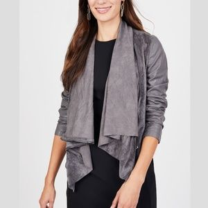 Blank NYC   Faux Suede and Leather Jacket